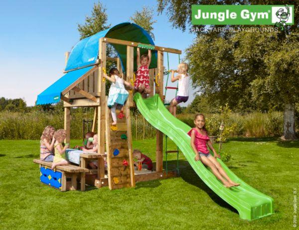 jungle gym villa mini picnic 160 spielturm mit picknick. Black Bedroom Furniture Sets. Home Design Ideas