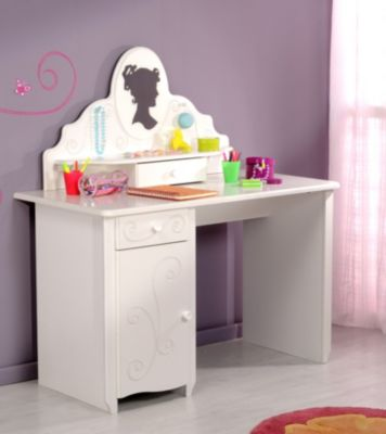 Schreibtisch Alice 11, mit Aufsatz
