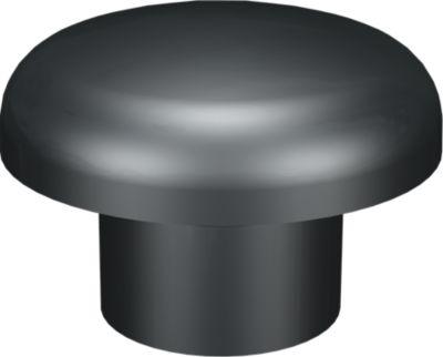 GreenLife  Be-/Entlüfter (Notüberlauf) Material: Kunststoff, Farbe: schwarz, Anschluss: DN 100