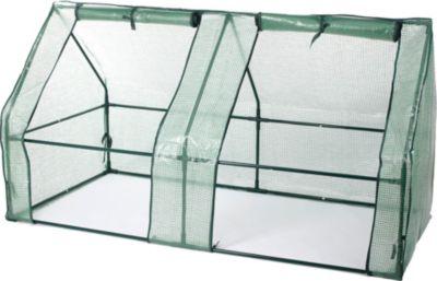 Gartenfreude Folien-Frühbeet 185 cm x 95 cm x 95 cm