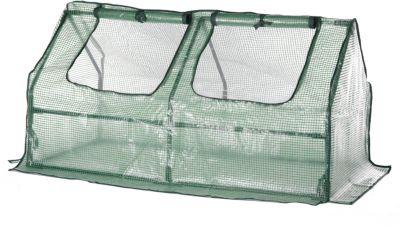 Gartenfreude Folien-Frühbeet 120 cm x 60 cm x 60 cm