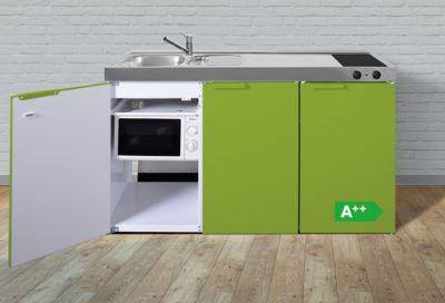 Stengel Küchen Kitchenline MKMGA 150 Grüner Apfel   Glaskeramikkochfeld  Links