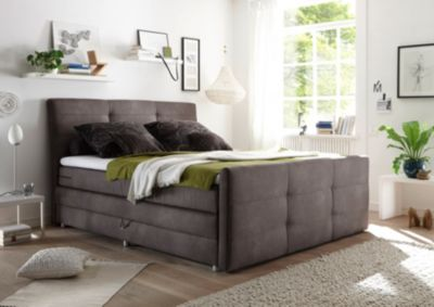 brw boxspringbett irvine 180x200 cm elephant mit. Black Bedroom Furniture Sets. Home Design Ideas