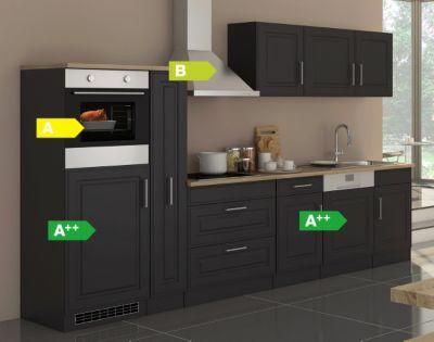 Held Möbel Küchenzeile Chicago 330GA Hochglanz Grau | Küche und Esszimmer > Küchen | Held Möbel