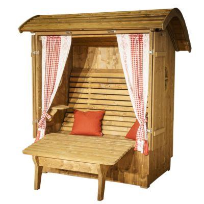 Relax aus Fichtenholz inkl. Beinauflage