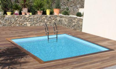 Gre  Carra Echtholz-Pool Ø 300 x 300 x 119 cm