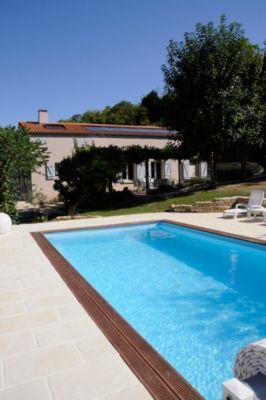 Gre Braga Echtholz-Pool Ø 800 x 400 x 146 cm