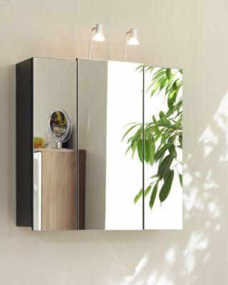 Spiegelschrank anthrazit