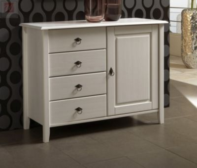 kommode kiefer weiss preisvergleich die besten angebote online kaufen. Black Bedroom Furniture Sets. Home Design Ideas