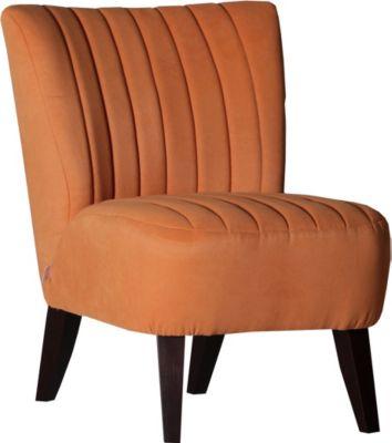 Sessel Orange Im Retro - Look Gutmann Amigo Buche Polyester