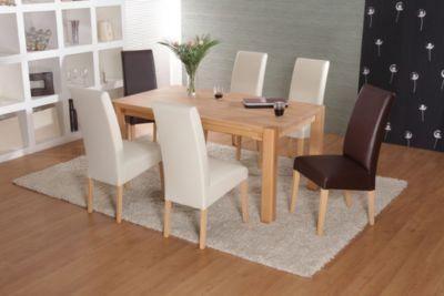 tisch mit st hlen buche preisvergleich die besten angebote online kaufen. Black Bedroom Furniture Sets. Home Design Ideas