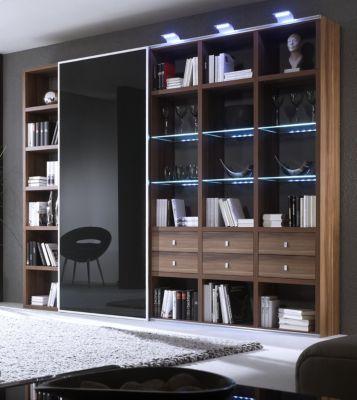regal baltimore walnuss preisvergleich die besten angebote online kaufen. Black Bedroom Furniture Sets. Home Design Ideas
