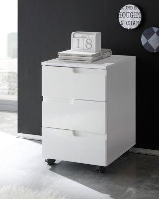 rollcontainer weiss preisvergleich die besten angebote. Black Bedroom Furniture Sets. Home Design Ideas
