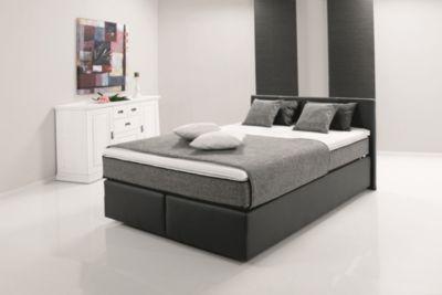 kunstleder bett schwarz 140x200 preisvergleich die. Black Bedroom Furniture Sets. Home Design Ideas