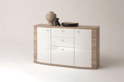 sideboard wei hochglanz preisvergleich die besten angebote online kaufen. Black Bedroom Furniture Sets. Home Design Ideas