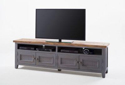 TV-Unterteil Recycle Kiefer Antik grau/ Vintage...