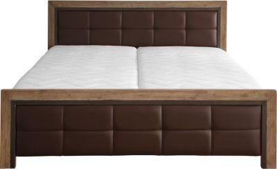 Bett in Akazie massiv 180 x 200 cm