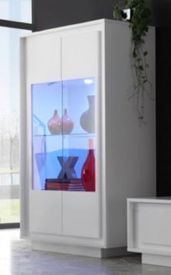 vitrine kommode walnuss weiss benito preis bild rating. Black Bedroom Furniture Sets. Home Design Ideas