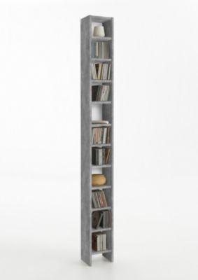 Regal Beton Light Atelier/ weiss