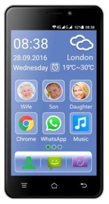 Switel eSmart M2 4G Smartphone mit Dual-SIM-Kar...