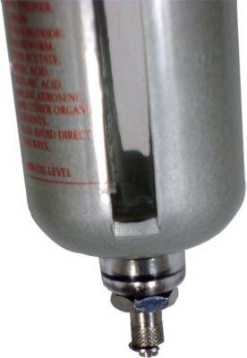 Druckluft Wasserabscheider 1/4 Zoll 10 bar