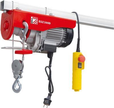 Holzmann Maschinen Holzmann elektrischer Seilzug max. 500 kg