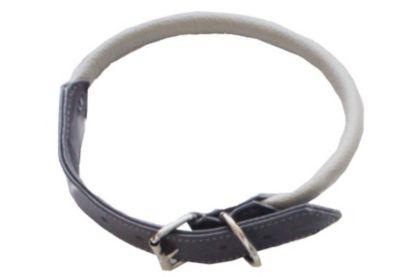 Halsband Shadow grau rund 60cm