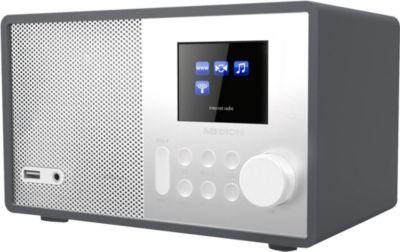 Wireless LAN Internet Radio MEDION® E85040 (MD 87540) weiss