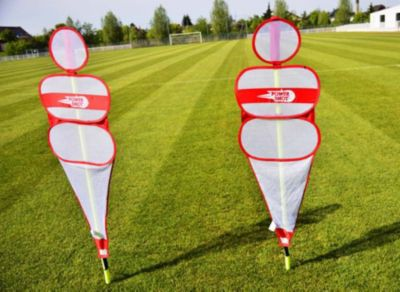 Power Shot POWERSHOT Defensivpuppe - The Soccer Wall - Fußball Dummy aus Mesh