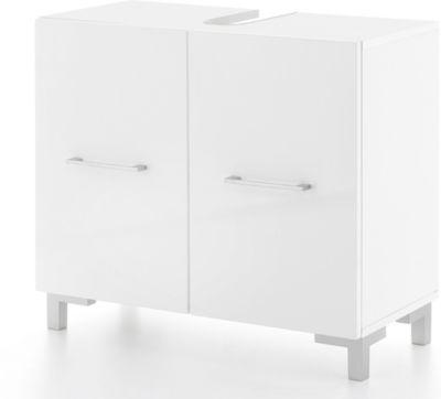 Wilmes Waschbeckenunterschrank Pure in Weiß