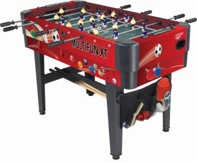 Carromco MULTIFUNKTIONSTISCH MULTIFUN-XT, 14in1...