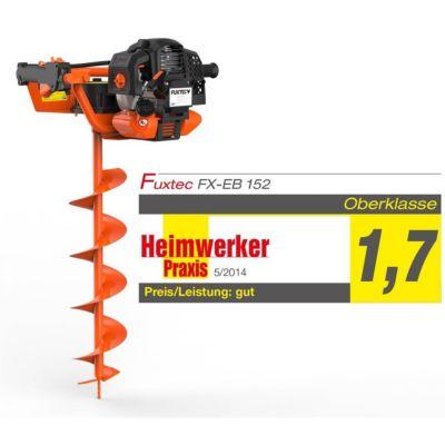 FUXTEC  FX-EB152 Erdbohrer inkl. 100,150,200mm