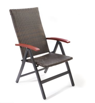 Giardino AY 879 Rattanstuhl 5-fach verstellbar | Wohnzimmer > Sessel > Rattansessel | Holz | Giardino