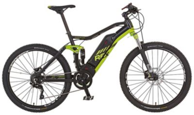 REX E-Bike Alu-Full Suspension MTB 650B 27,5 Graveler e8.9