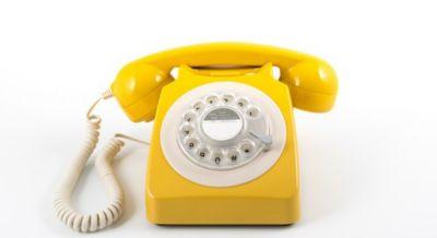 GPO Telefon mit Drehscheibe im klassischen 70er...