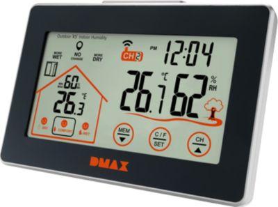 DMAX Temperatur & Hygro Station mit Lüftungsemp...