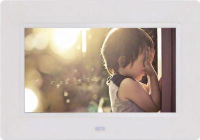 BRAUN DigiFrame 82 weiss (8 LCD+LED, 1024x768, 4:3)