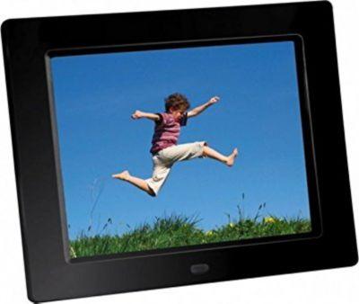 BRAUN DigiFrame 855 schwarz (8 LCD+LED. 1024x768, 4:3)