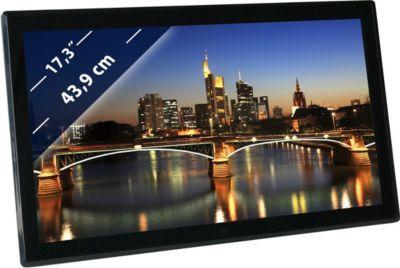 BRAUN DigiFrame 1730 (17,3´´,LCD+LED,1920x1080,...