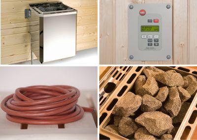 weka Saunaofenset 9,0 BioS mit Ofenanschlußkabel | Bad > Sauna & Zubehör > Saunaöfen | Weka