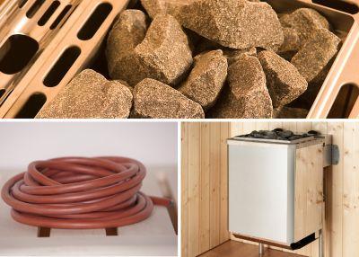 weka Saunaofenset 5,4 mit integrieter Steuerung und Anschlußkabel | Bad > Sauna & Zubehör > Saunaöfen | Edelstahl | Weka