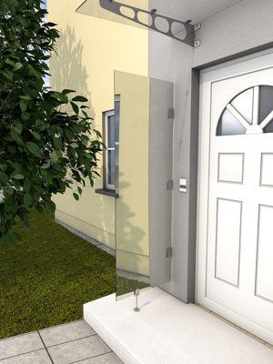Gutta HD klar Vordach-Seitenteil, 60 x 180 cm   Baumarkt > Modernisieren und Baün > Vordächer   Gutta
