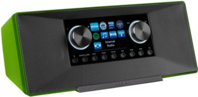® LIFE® P85135 WLAN Internet-Radio, DLNA-/UPnP, DAB+ & FM/UKW, LAN, USB, AUX, 2x6W RMS, grün