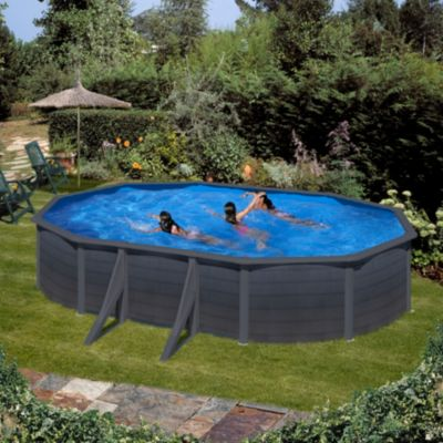 stahlwand pool oval 120 preisvergleich die besten angebote online kaufen. Black Bedroom Furniture Sets. Home Design Ideas