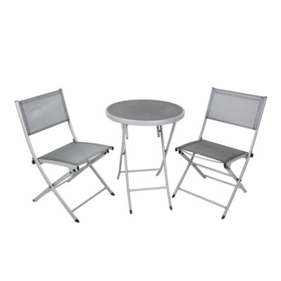 Greemotion Balkon Sitzgruppe Alu-Textilene | Garten > Balkon > Balkon-Sets | greemotion