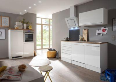 Respekta Premium grifflose Küchenzeile/Doppelblock BERP290HWWC weiß ...