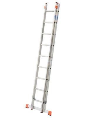 Krause Fabilo´´ Schiebeleiter - 2 x 9 Sprossen´´ | Baumarkt > Leitern und Treppen > Schiebeleiter | Aluminium | krause