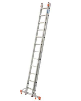 Krause Fabilo´´ Schiebeleiter - 2 x 12 Sprossen´´ | Baumarkt > Leitern und Treppen > Schiebeleiter | Aluminium | krause