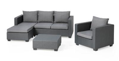 Allibert Lounge Mobel ~ Anthrazit loungemöbel garten online kaufen möbel suchmaschine