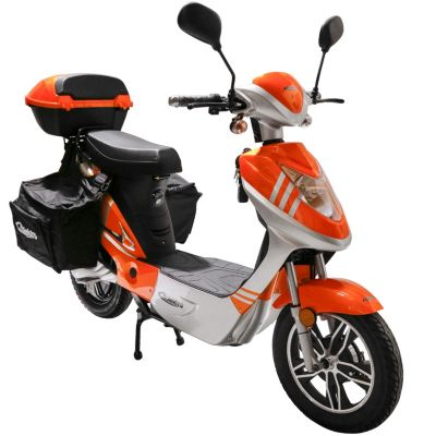 Rolektro eco-City 20 V.2 PLUS Orange/ Silber